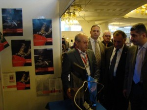 At our Novec-1230 booth in exhibition Armenia Bussines Partner, 2011