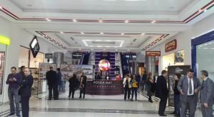Our sprinkler system in Russia mall, 2017