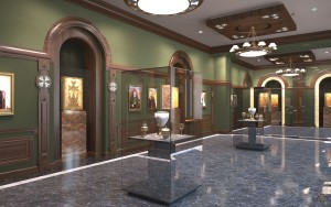 Mother See of Holy Etchmiadzin, exhibition hall