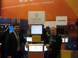 At SPHINX booth, international forum Safety technologies- 2009