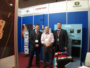 At Chemetron booth, exhibition MIPS- 2012